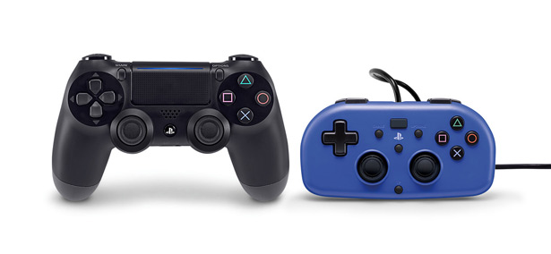 Mini Wired Gamepad в сравнении с DUALSHOCK 4 Wireless Controller