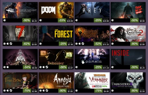 steam sale helloween 2017