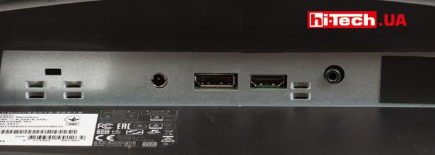 Видеовходы Acer Predator Z301CT