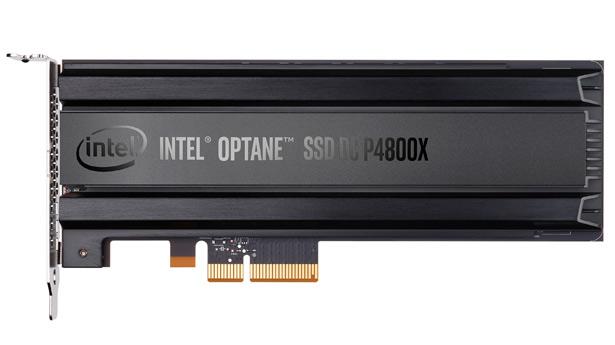 Intel выпускает 750-гигабайтную версию накопителя Optane SSDDC P4800X