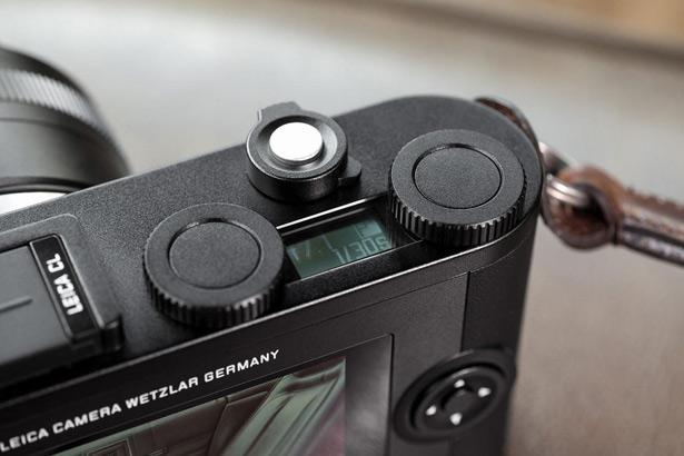 Leica CL кнопки, колесики