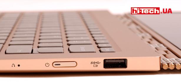 Боковая панель разъемов Lenovo Yoga 920