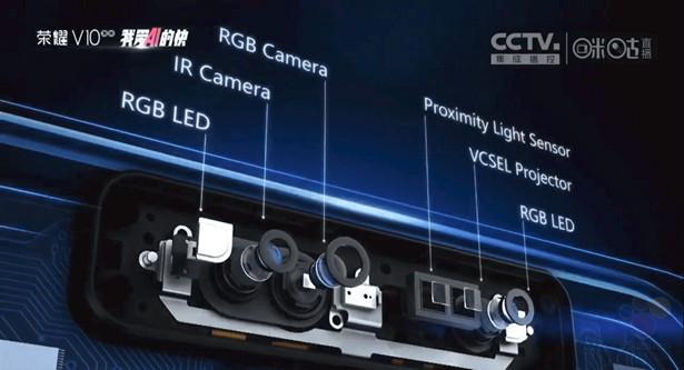 Huawei Honor V10 получил передовой 3D-сканер лица пользователя