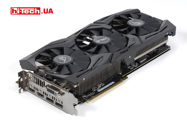 ASUS ROG STRIX GeForce GTX 1070 Ti Advanced edition