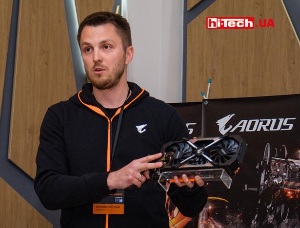 Gigabyte Aorus презентация в Украине
