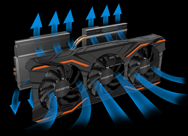 Система охлаждения Gigabyte P104-100 4G