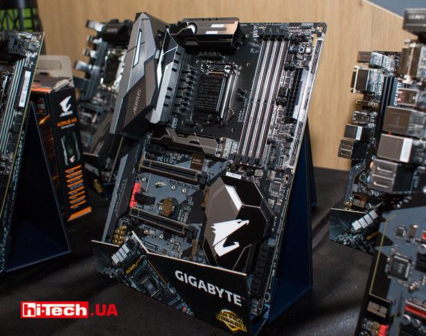 Топовая материнская плата Gigabyte Z370 AORUS Gaming 7 на чипсете Intel Z370