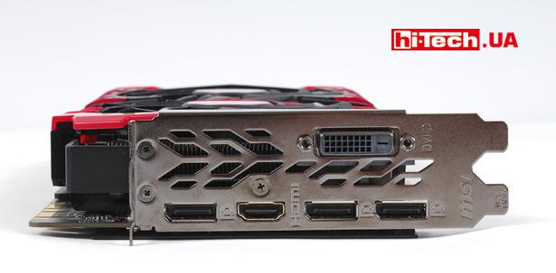 Видеокарта MSI GeForce GTX 1070 Ti GAMING 8G крупная по высоте, но ширину производитель сохранил в пределах двух слотов