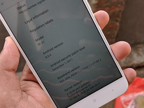 Oreo for Xiaomi Mi A1