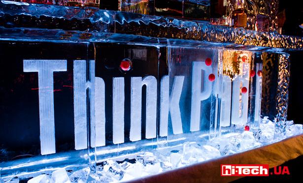 ThinkPad логотив по льду