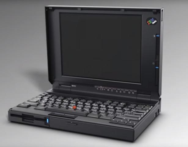 Ноутбук ThinkPad 700C, появившийся в 1992 году