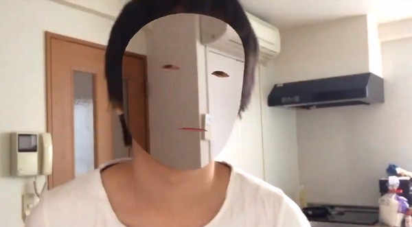 Японец создал маску-невидимку при помощи FaceID наiPhone X
