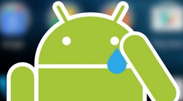Android Oreo sad