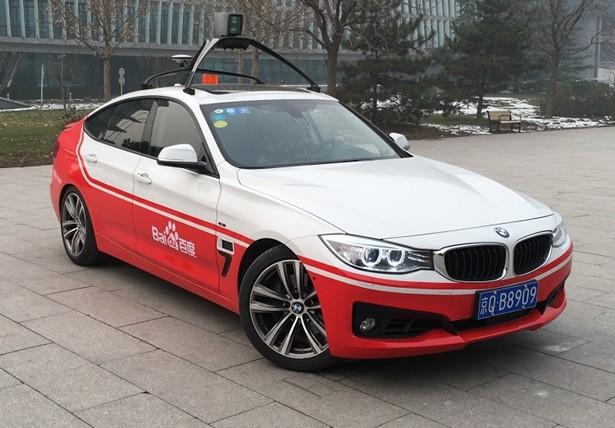 BlackBerry Baidu self driving car