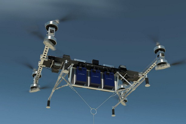 Boeing 500 pounds drone 2