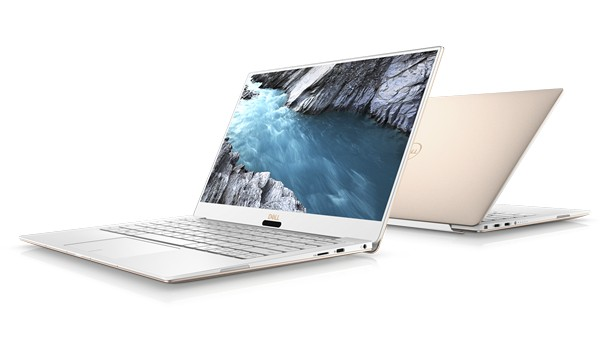 Dell XPS 13 Alpine White & Rose Gold 1