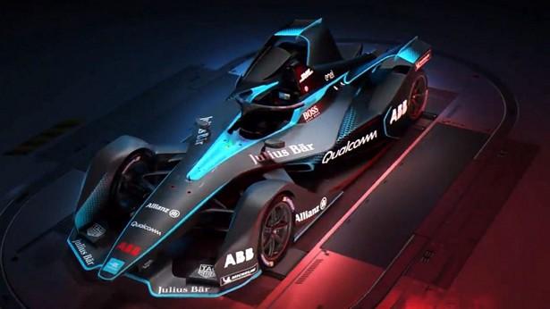 Болид Formula-E обновленного поколения показали нафото