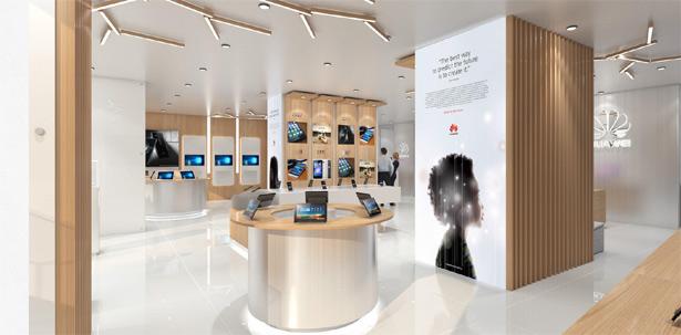 Новый фирменный магазин Huawei