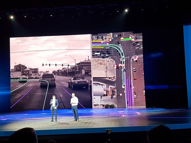 Intel Mobileye ces 2018 3