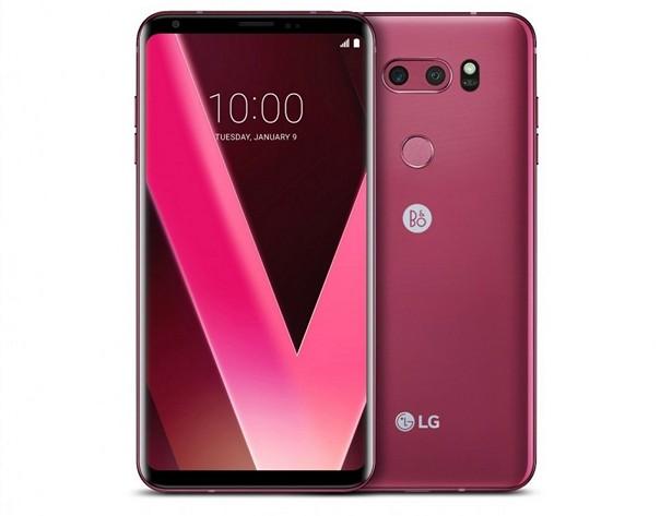 LG V30 Raspberry Rose 2