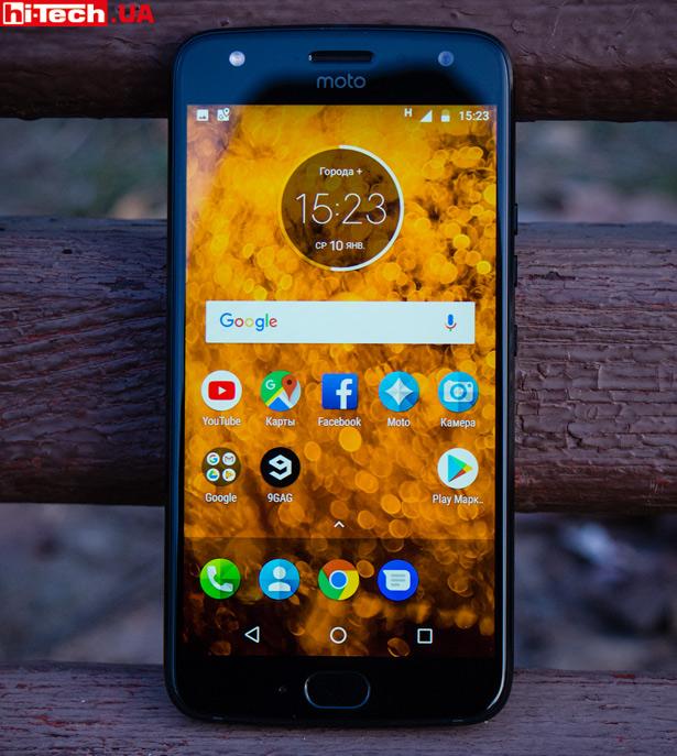 Экран Moto X4