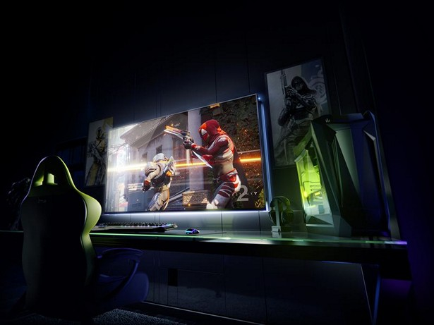 NVIDIA Big Format Gaming Displays ces 2018 1
