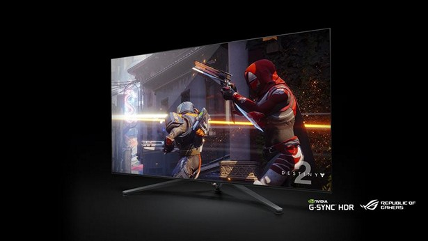 NVIDIA Big Format Gaming Displays ces 2018 2
