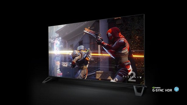 NVIDIA Big Format Gaming Displays ces 2018 3