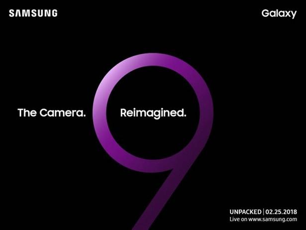 Samsung Galaxy S9 Unpacked eent 25-02-17 MWC