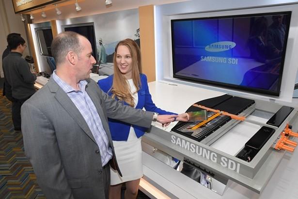 Samsung SDI batteries car