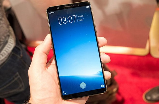 Vivo fingerprint inscreen