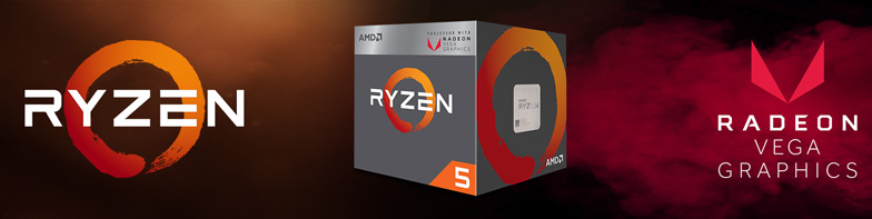 Процессоры AMD Ryzen со встроенной графикой Radeon Vega