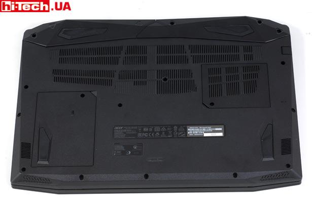 Нижняя панель Acer Nitro 5