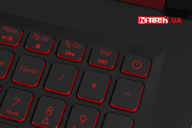 Кнопка включения Acer Nitro 5