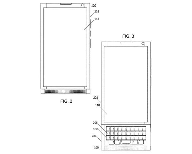 BlackBerry UNI smartphone lens 1