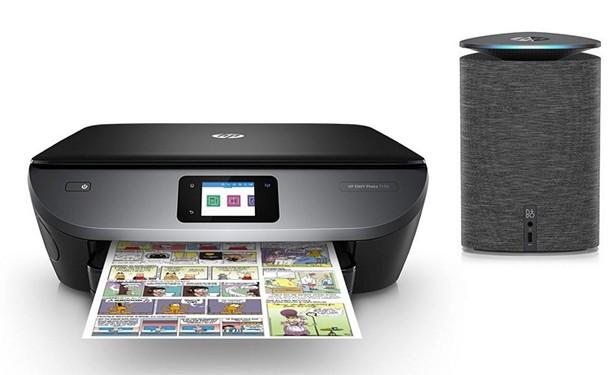 HP printer with BO
