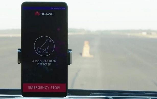 Huawei autopilot car