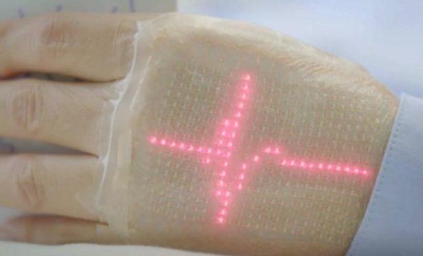 LED-skin