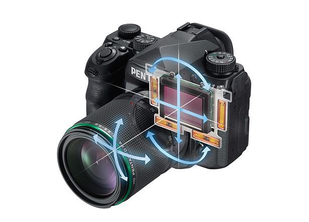 Система стабилизации изображения Pentax K-1 Mark II