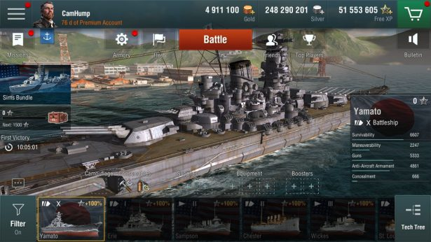 World of Warships Blitz 14