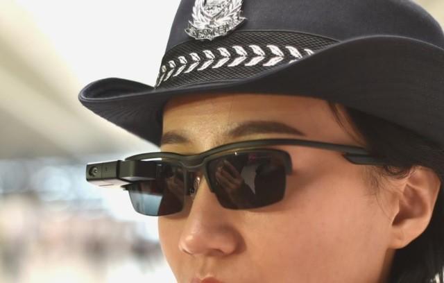 police glasses identify 3