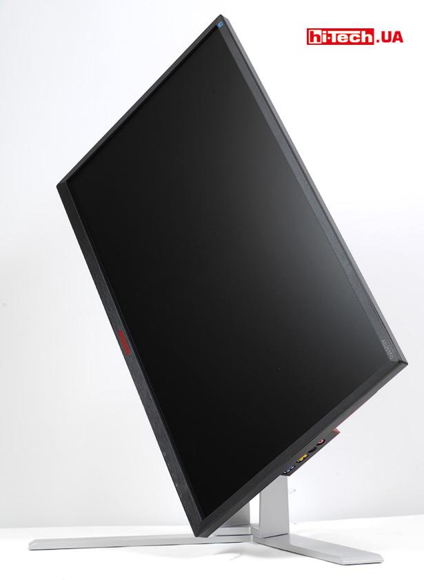 Поворот экрана AOC AGON AG251FG в портретную ориентацию