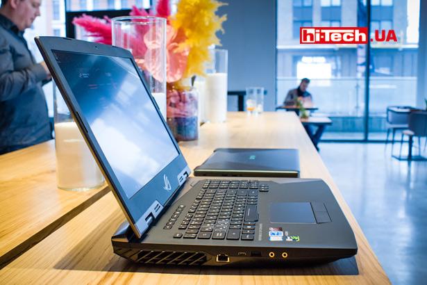 Ноутбуки ASUS ROG G703 и ASUS FX503