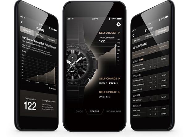 Приложение для часов Casio