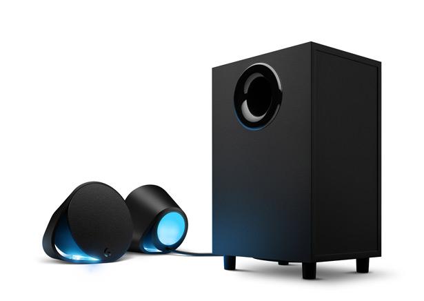 Акустическую систему Logitech G560 оборудовали эффектной RGB-подсветкой