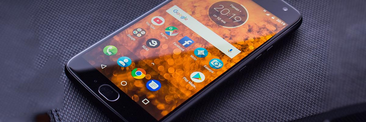 Тест смартфона Moto X4