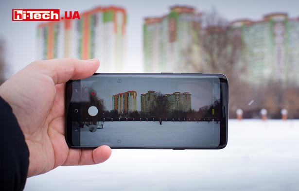 Снимаем с Samsung Galaxy S9+