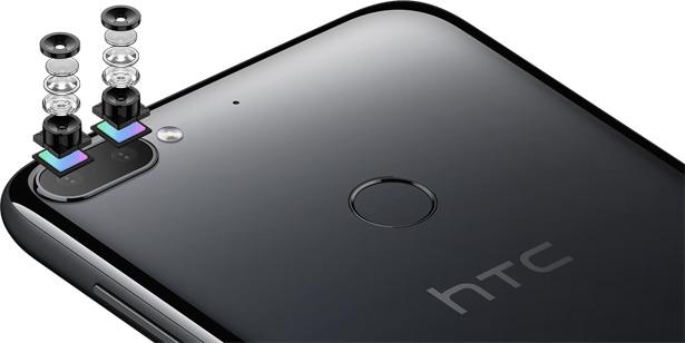 Двойная камера HTC Desire 12+