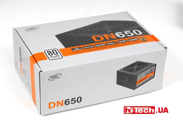 Упаковка Deepcool DN650