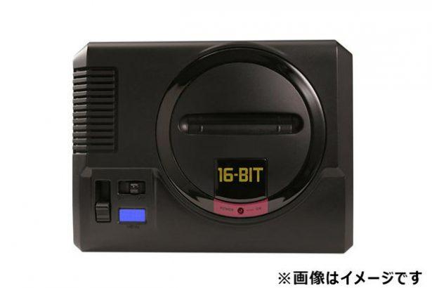 Sega представила ретро-консоль мега Drive Мини